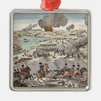 ヴァグラムの戦い、1809年7月6日(版木、銅版、版画) メタルオーナメント