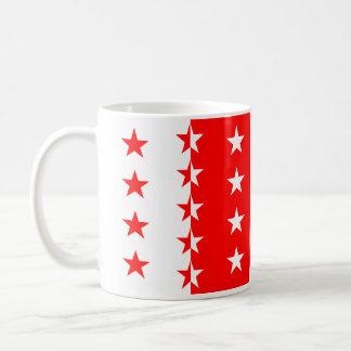 ヴァレー州、スイス連邦共和国 コーヒーマグカップ