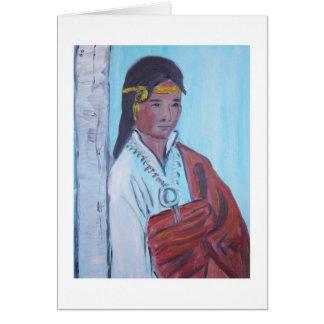 ヴァンミラーの自画像カード カード