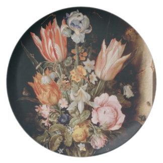 ヴァンden Berghe'sの花のプレート プレート