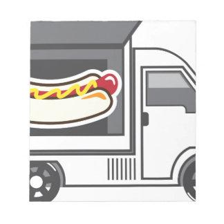 ヴァンFood Truck Catering ノートパッド