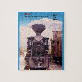ヴァージニアおよびTruckeeの鉄道エンジンレノ ジグソーパズル