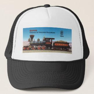 ヴァージニアおよびTruckeeの鉄道エンジン帝国帽子 キャップ