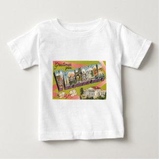 ヴァージニアからの挨拶 ベビーTシャツ