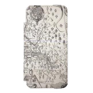 ヴァージニアの地図1612年 INCIPIO WATSON™ iPhone 5 ウォレット ケース