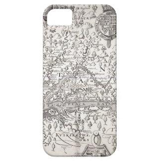 ヴァージニアの地図1612年 iPhone SE/5/5s ケース