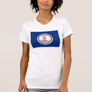 ヴァージニアの州の旗統一されたなアメリカ共和国 Tシャツ