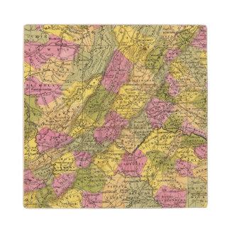 ヴァージニアの新しい地図 ウッドコースター