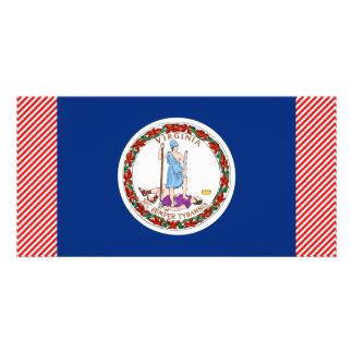 ヴァージニアの旗 カード