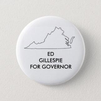 ヴァージニアの知事2017年のためのエドGillespie 5.7cm 丸型バッジ