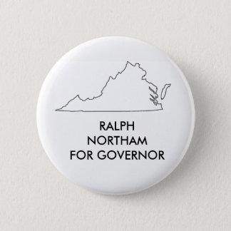 ヴァージニアの知事2017年のためのラーフNprtham 5.7cm 丸型バッジ