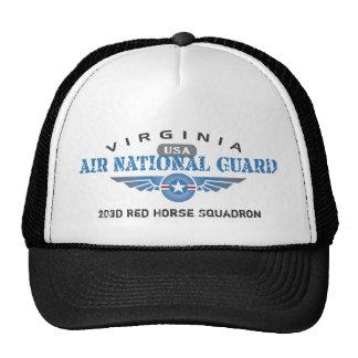 ヴァージニアの空軍州兵 トラッカーキャップ