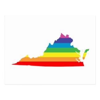 ヴァージニアの虹 ポストカード