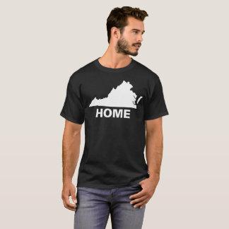 ヴァージニアは家のTシャツです: ヴァージニアのワイシャツ、VAのワイシャツ Tシャツ