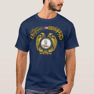 ヴァージニアは統一された示します Tシャツ