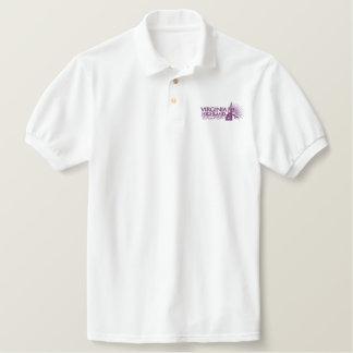 ヴァージニア高地の結婚の平等の人のワイシャツ 刺繍入りポロシャツ