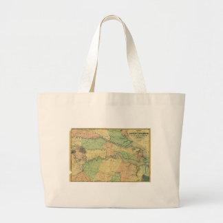 ヴァージニア1864年のリッチモンドそして半島状のキャンペーン ラージトートバッグ