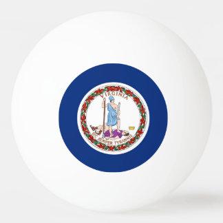 ヴァージニア、米国の旗が付いている特別なピンポン球 卓球ボール