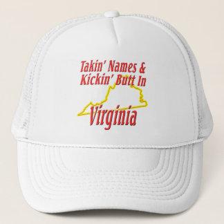 ヴァージニア- Kickinのお尻 キャップ