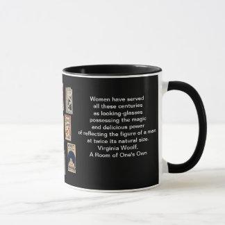 ヴァージニアWoolfの本 マグカップ