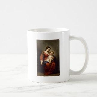ヴァージンおよびキリストの子供 コーヒーマグカップ