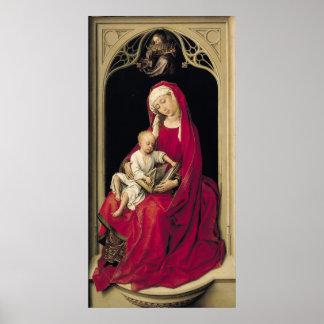 ヴァージンおよび子供1464年 ポスター