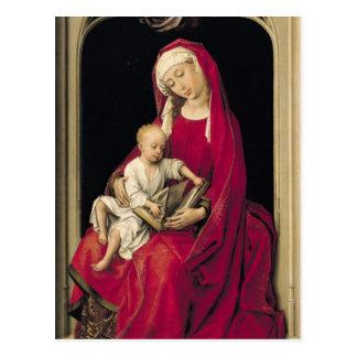 ヴァージンおよび子供1464年 ポストカード