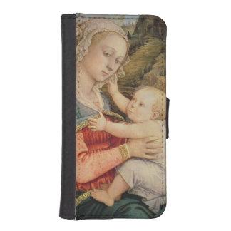 ヴァージンおよび子供、c.1465 iPhoneSE/5/5sウォレットケース