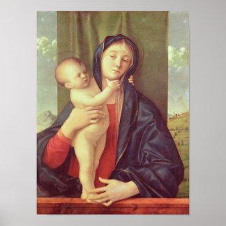 ヴァージンおよび子供、c.1487 ポスター