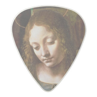 ヴァージンの頭部の詳細 アセタール ギターピック