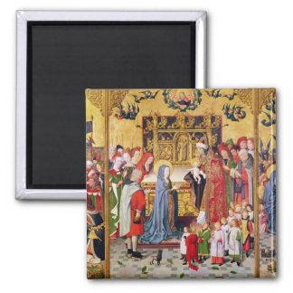ヴァージンの7つの喜びの祭壇の背後の飾り マグネット