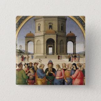 ヴァージン1500-04年の結婚 5.1CM 正方形バッジ