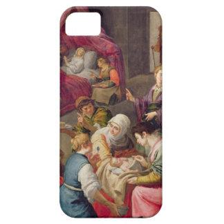 ヴァージン1640年の誕生(キャンバスの油) iPhone SE/5/5s ケース