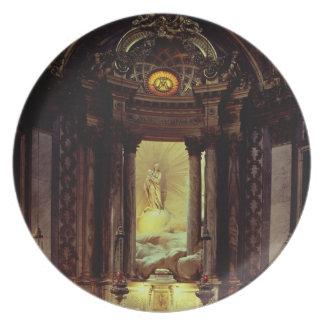 ヴァージン、1770年代(写真)のチャペル プレート