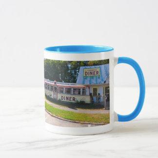 ヴァーモントのダイナー-マグ マグカップ