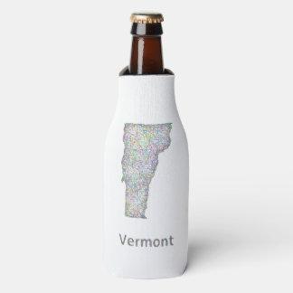 ヴァーモントの地図 ボトルクーラー