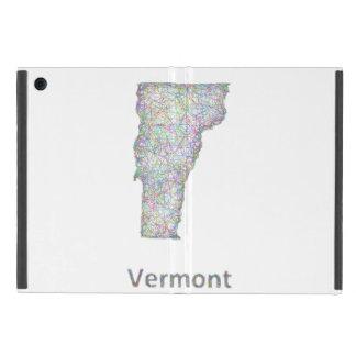 ヴァーモントの地図 iPad MINI ケース