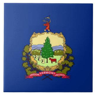 ヴァーモントの州の旗のタイル タイル