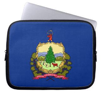 ヴァーモントの州の旗のラップトップスリーブ ラップトップスリーブ
