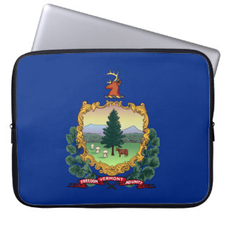 ヴァーモントの州の旗統一されたなアメリカ共和国の記号 ラップトップスリーブ