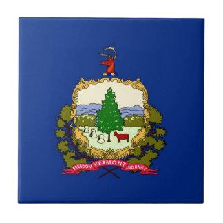 ヴァーモントの州の旗 タイル