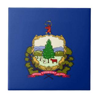 ヴァーモントの旗 タイル