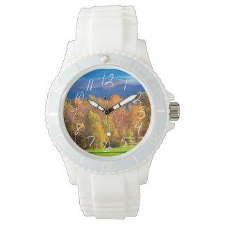 ヴァーモントの景色 腕時計