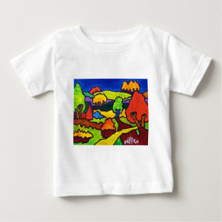 ヴァーモントの群葉10-7年 ベビーTシャツ