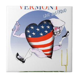 ヴァーモントの騒々しく、誇りを持った、贅沢なfernandes タイル