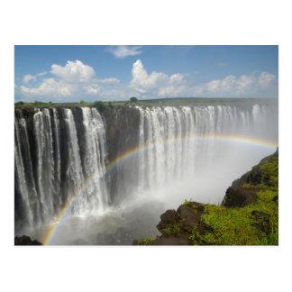 ヴィクトリア滝ジンバブエ ポストカード