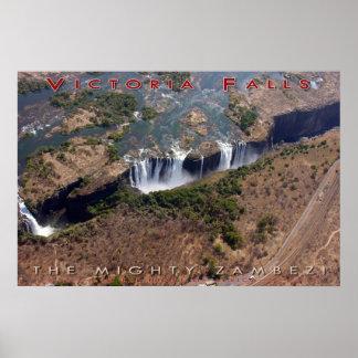 ヴィクトリア滝(v3) ポスター