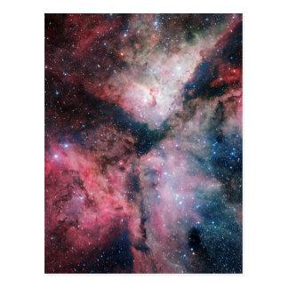 ヴィスタのオリオンの星雲の赤外線眺め ポストカード