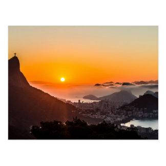 ヴィスタChinesa、リオデジャネイロ、ブラジル ポストカード