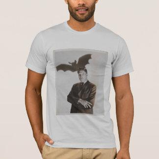 ヴィンセント・プライス-こうもりのワイシャツ Tシャツ